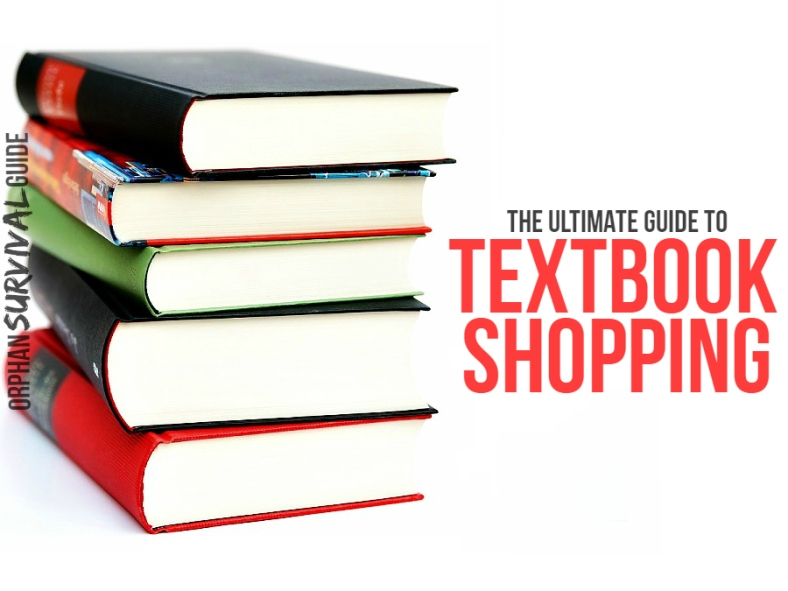 Orphan Survival Guide - Ultimate Guide to Textbook Shopping
